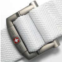 En gros 110 120 140cm toile ceinture de nombreux Styles de haute qualité hommes et femmes militaire plus épais ceinture décontractée en toile 20 couleurs HE11