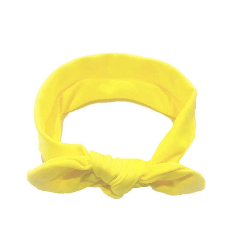ใหม่เด็กสาว Bowknot Hairband น่ารักหัวแถบคาดศีรษะยืดหยุ่น Bebe สาวเจ้าหญิงน่ารัก Headband Headwear อุปกรณ์เสริมผม