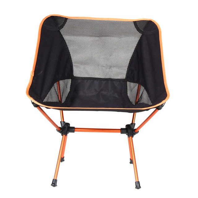 New Portable Chair Folding Beach Seat Stool Fishing Chair For Camping Hiking Beach Picnic Bag Barbecue Fishing Tools