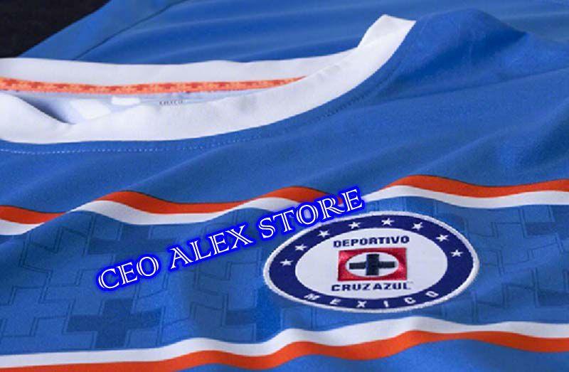 1f75ac0c8 2015 2016 Cruz Azul camisetas De futbol Mexican club Cruz Azul Home Jersey  15 16 Cruz Azul Jersey ShirtsCruz Azul Jersey 15 16-in Soccer Jerseys from  Sports ...