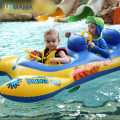 1.6m Giant Crab Ride-on Pool Floats Summer Swimming Party  Children Fun Water Toy Kickboard For 2 Children