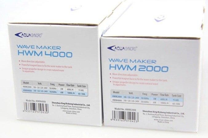 AquaSyncro HWM 4000 Hwm-4000 Wave Maker Pump Wavermaker Pump, Plant Tank Reef Coral Aquarium