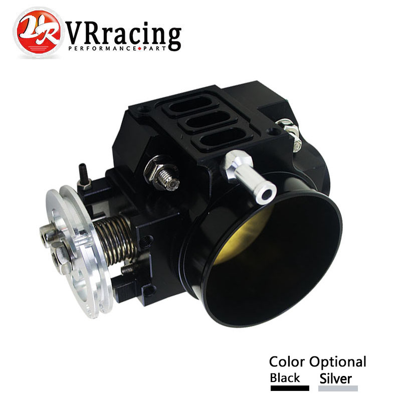 VR RACING- NEW THROTTLE BODY FOR RSX DC5 CIVIC SI EP3 K20 K20A 70MM CNC INTAKE THROTTLE BODY PERFORMANCE VR6951 автомобильные держатели и подставки mt fit dc2 ek9 dc5 eg6 dc5 ek4 s2000 nsx mugen jdm civi c crx c rsx