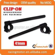 Motorcycle New 7/8″ Pair Black 41mm ClipOn Handlebar For Kawasaki VN800 Vulcan/Classic/Drifter 1995 96 97 98 99 00 01 02 03 2004