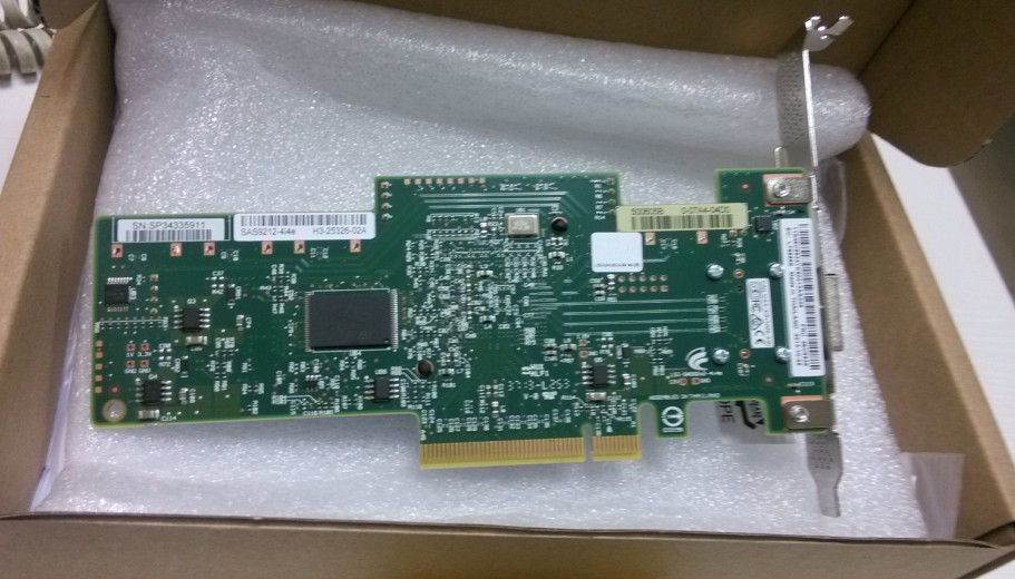 39M6017  DS4000 4GB SINGLE PORT 64BIT 133MHZ PCI-X FIBRE CHANNEL HOST BUS ADAPTER  1 year warranty