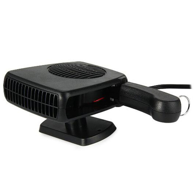 BreaDeep Portable 12V 150W Auto Car Heater Heating Fan with Swing-out Handle Driving Enthusiasts Car-Styling Defroster Demisterr