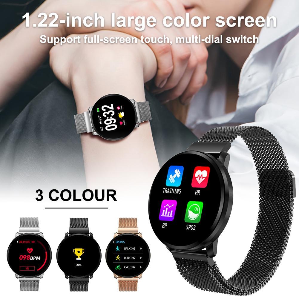 CF68 Bluetooth Watch Waterproof IP67 Color  Screen Multi Sports Mode Heart Rate Blood Pressure Monitoring Smart