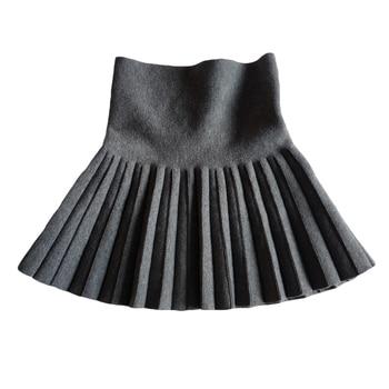 Baby Girl's Casual Pleated Mini Skirt 1
