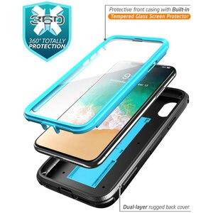 Image 2 - Için iphone X Xs Kılıf i Blason Armorbox Tam Vücut Ağır Şok Azaltma Kapak ile inşa Temperli cam Ekran Koruyucu