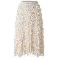 Новая модная плиссированная юбка средней длины 2019