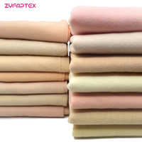 ZYFMPTEX 2019 New Arrival 14 Skin Colors 100 Polyester Fleece Fabric For Patchwork Handmade DIY Sewing Stuffed Cloth Doll Fabric