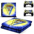 Time de futebol espanhol cadiz cf ps4 adesivo de pele decalque de vinil para sony ps4 playstation 4 console e 2 controladores de adesivos