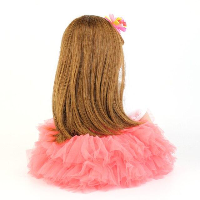60cm Silicone Reborn Baby Doll Toys For Children Exquisite Vinyl Newborn Princess Toddler Alive Girl Boneca