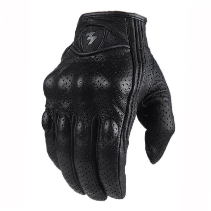 Hot SALE Full Finger Motorcycle Gloves Guantes Moto Verano Motocross Leather Glove De Moto Para Hombres Bike Racing Riding