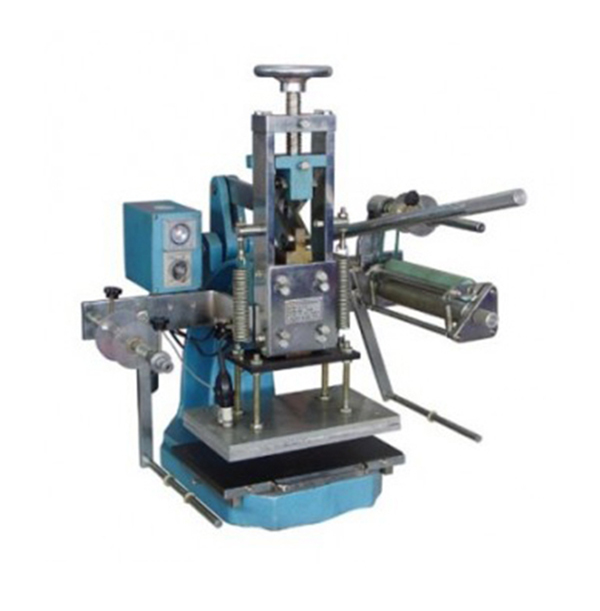 Manual Hot Stamping Machine For Lenther/wood/ Cardboard/ Paper