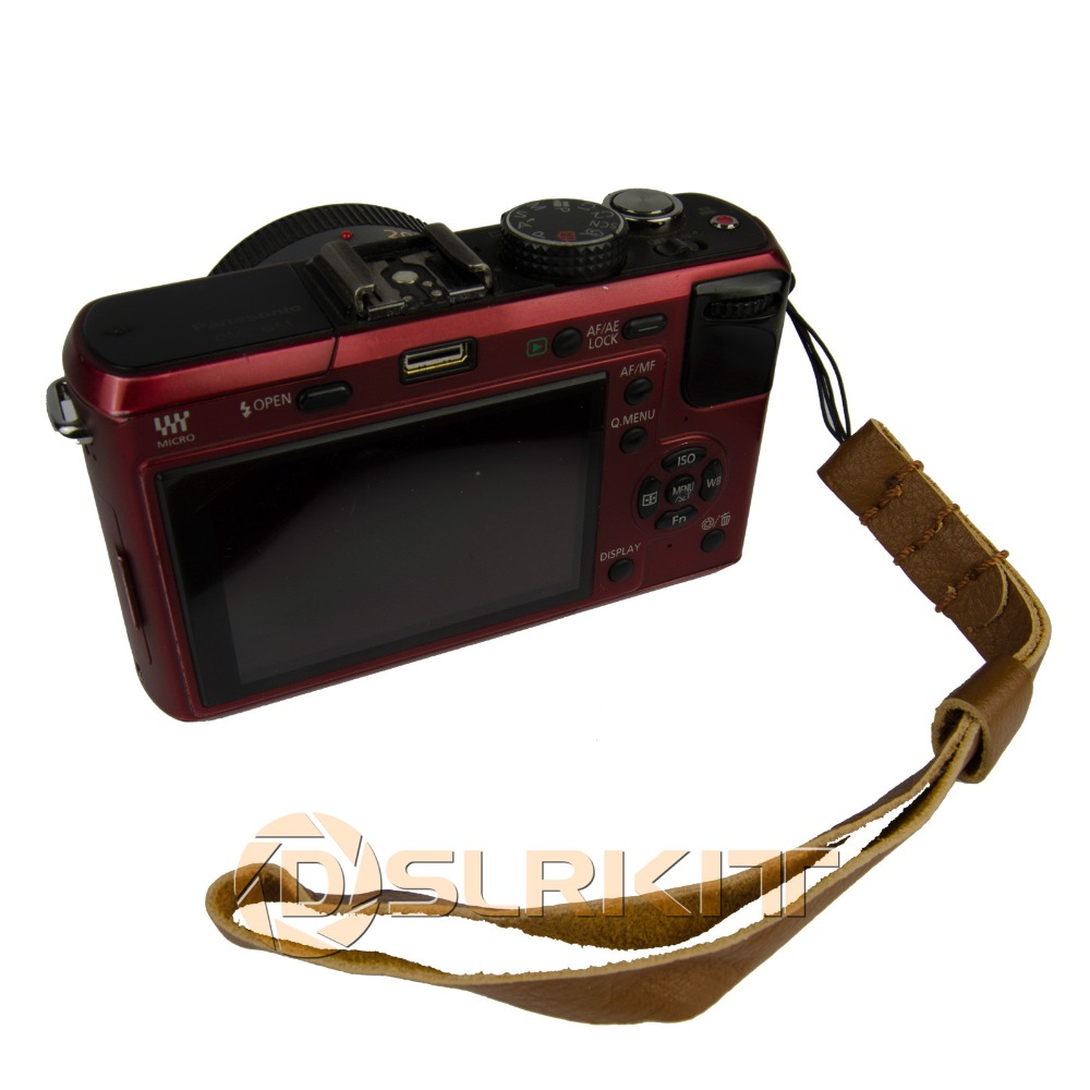 Разделение кожаных ремешков/ручной держатель для ремня безопасности для компактных и беззеркальных Камера