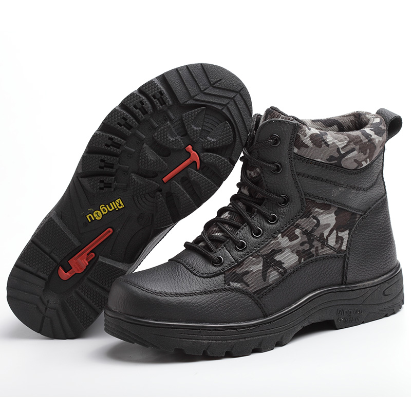 new arrive men fashion big size mesh steel toe caps work safety shoes spring autumn winter