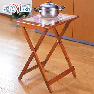 Vietnam Imported Wooden Folding Table Mao Portable Simplicity Small Square Table  Small Table Small Table Study Table