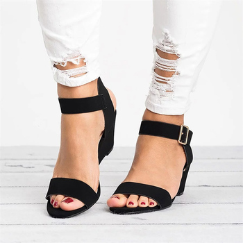 7565d6844756 2019 летние женские туфли на танкетке; женская обувь; Женская Весенняя  обувь; ...