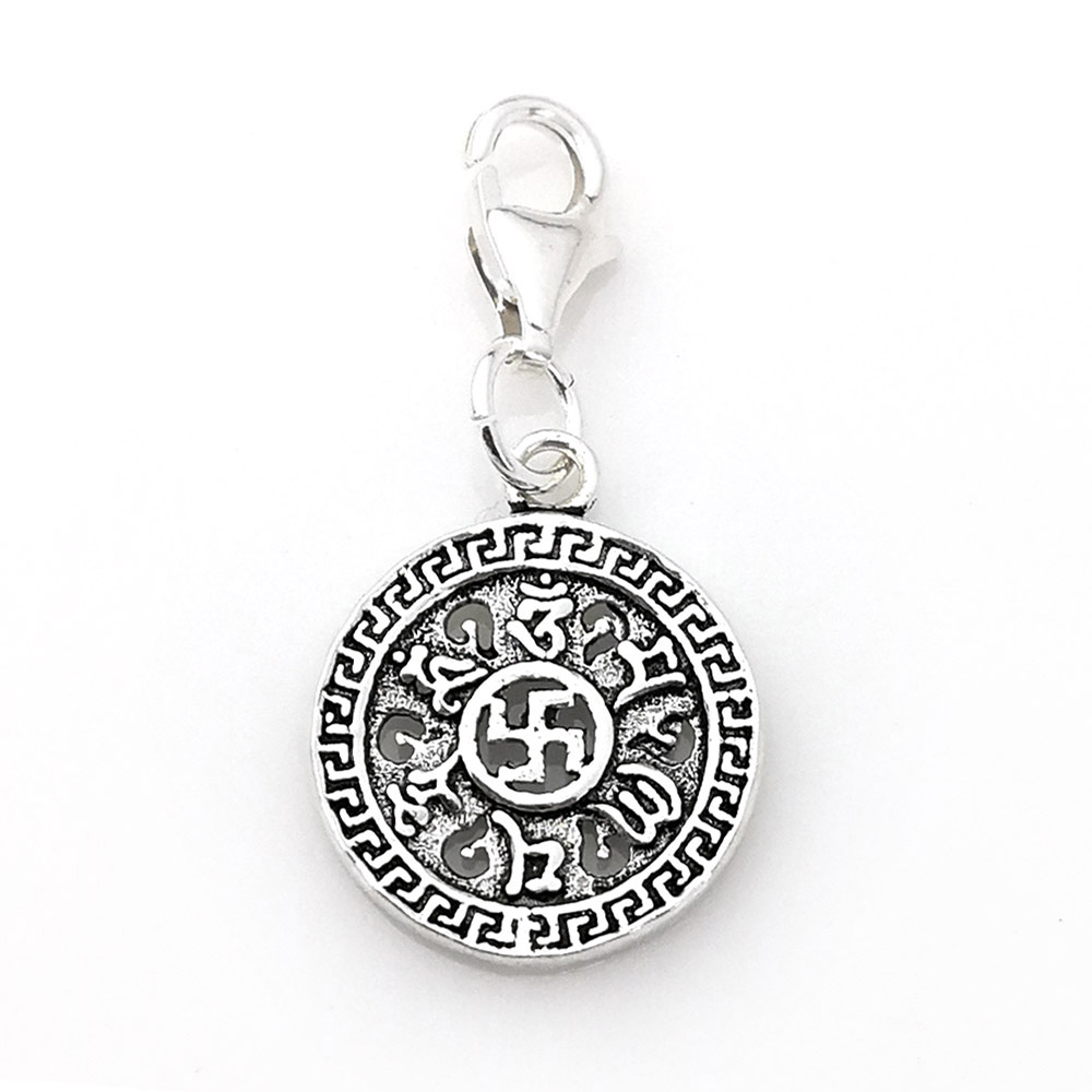 Hemiston thomas buddhism great blessing om mani padme hum symbol hemiston thomas buddhism great blessing om mani padme hum symbol 925 sterling silver charm jewelry for women party gift ts 681 in charms from jewelry buycottarizona