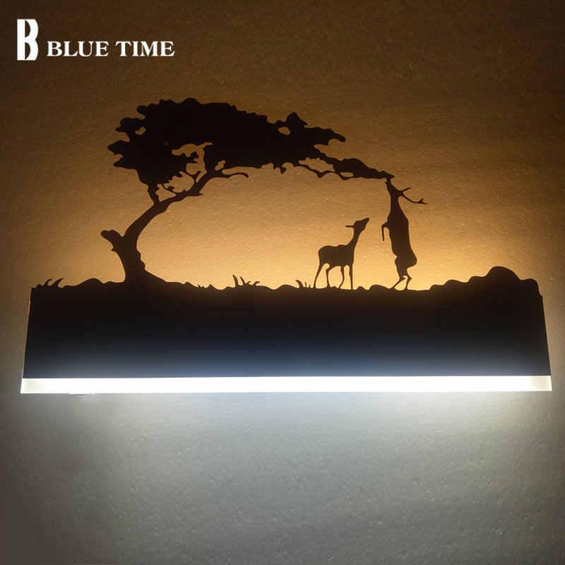 Черный 12 Вт современный светодиодный настенный светильник для дома гостиная рядом с комнатой Спальня Ванная комната огни Светодиодный бра настенный светильник блеск на стене