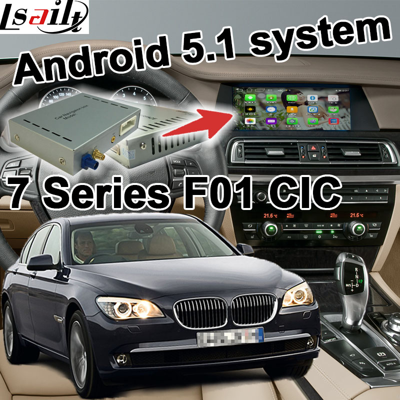 Android 6 0 GPS navigation box for BMW F01 7 series CIC system video interface box