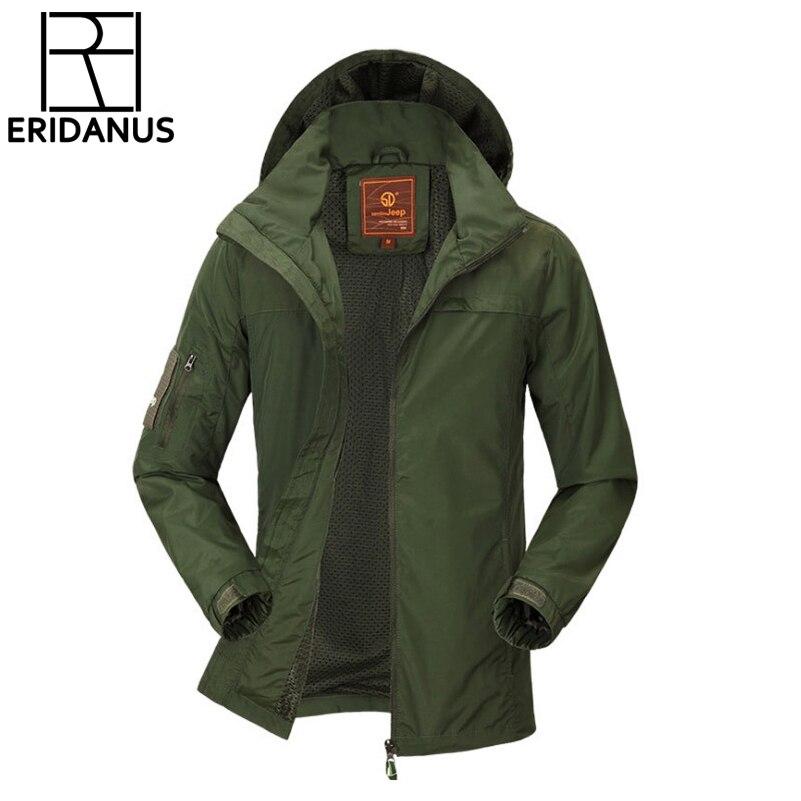 Jacke Parka Herren Wasserdicht Grün Schwarz Winter Jacke