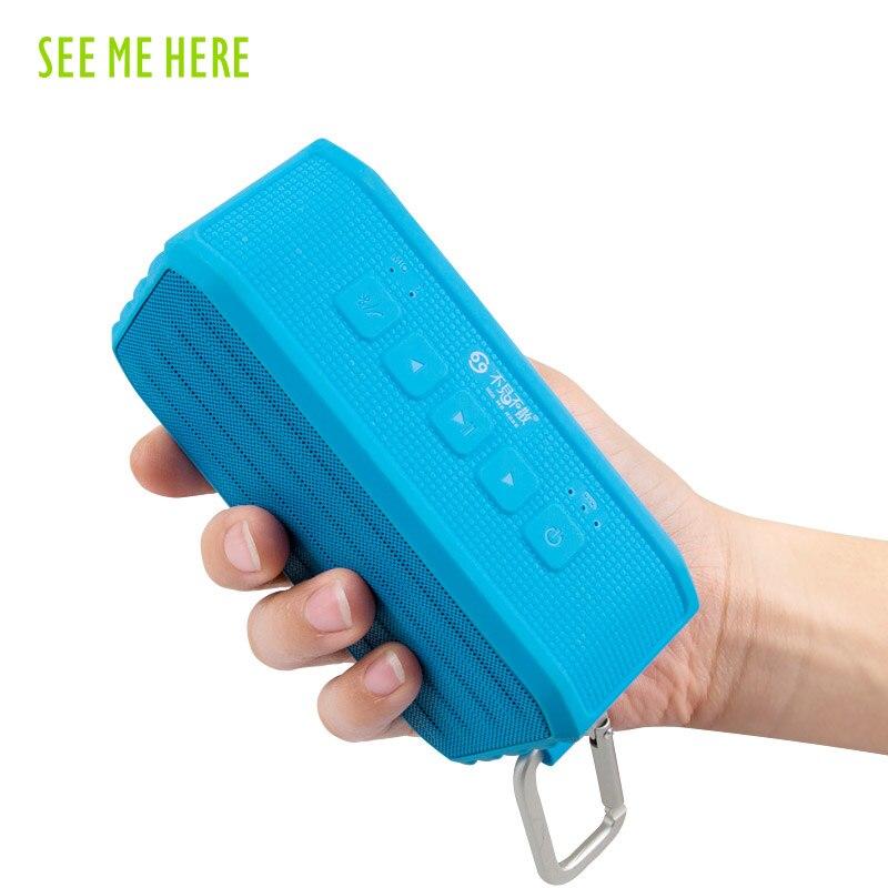 Vaadake mind siin bv370 traadita Bluetoothi kõlar 4.0 - Kaasaskantav audio ja video - Foto 5