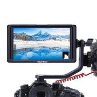 FEELWORLD F6S 5 дюймов 4 К 1920x1080 на Камера видео монитор HDMI Вход Full HD ips для DSLR Feiyu AK4000 DJI Ронин S стабилизатор