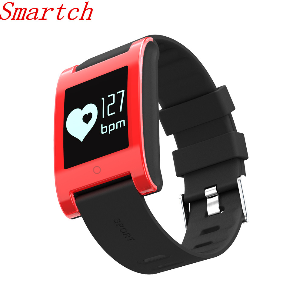 Smartch DM68 Smart Bracelet Blood Pressure Heart Rate Monitor Bluetooth Call SMS Alert Smart Band Activity Fitness Tracker
