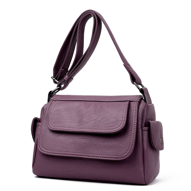 2019 new shoulder bag female Europe and America diagonal across the irregular lady bag casual fashion