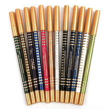 MENOW Eyeliner Makeup 12 Colors/Set Long-lasting Eye Liner Pencil Waterproof Smudge-Proof Cosmetic P10010