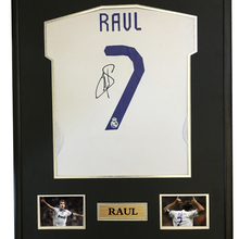 Raul signed autographed soccer shirt jersey come with Sa coa framed Real  Madrid(China) 1ba480fe7