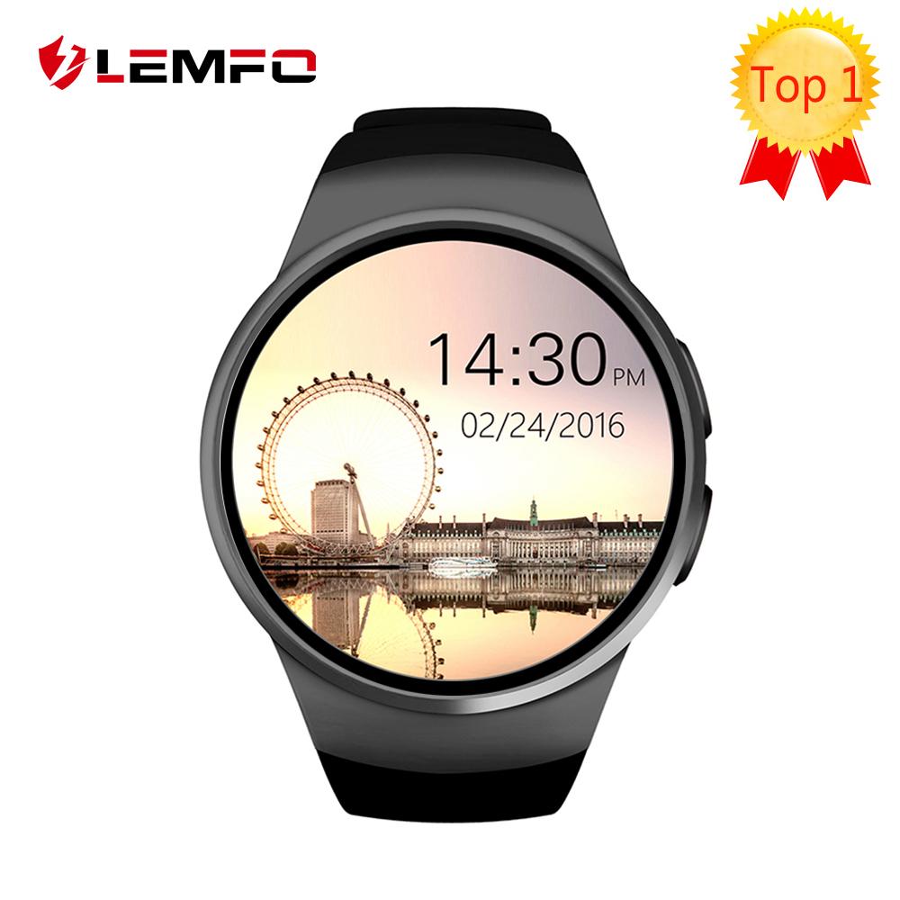 Prix pour KW18 Smart Watch téléphone Soutien SIM TF Carte Moniteur de Fréquence Cardiaque MTK2502 smartwatch pour apple vitesse s2 Android IOS Téléphone