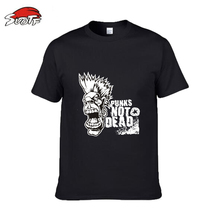 SUOTF boxing big yards loose fitness boxing fights personality pattern breathable movement short sleeve cotton mma