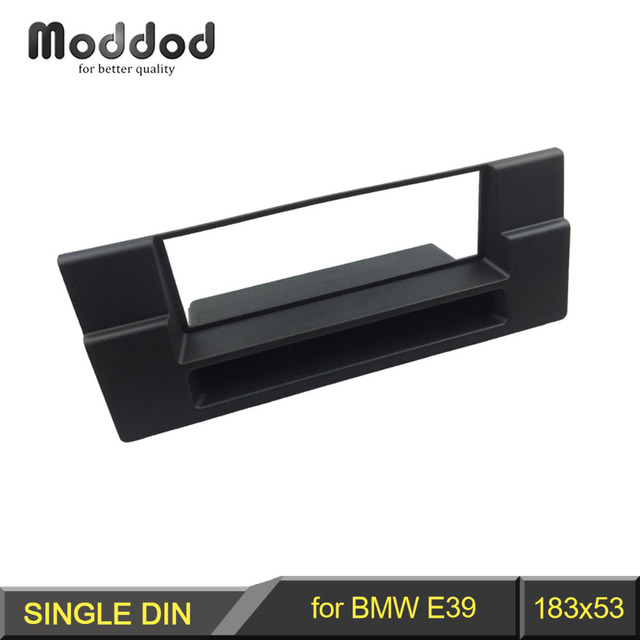 Din Audio Fascia for BMW 5 Series E39 X5 E53 Radio CD GPS DVD Stereo CD Panel Dash Mount Installation Trim Kit Frame