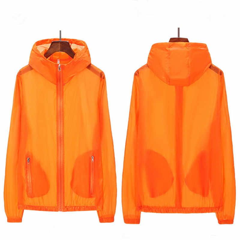 VEQKING プラスサイズ S-6XL UV 太陽保護ジャケット夏超薄型通気性日焼け服長袖ハイキングジャケット