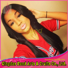 7A Top Quality Virgin Brazilian Human Hair Straight Lace Front Wigs Glueless Full Lace Wigs Natural Color
