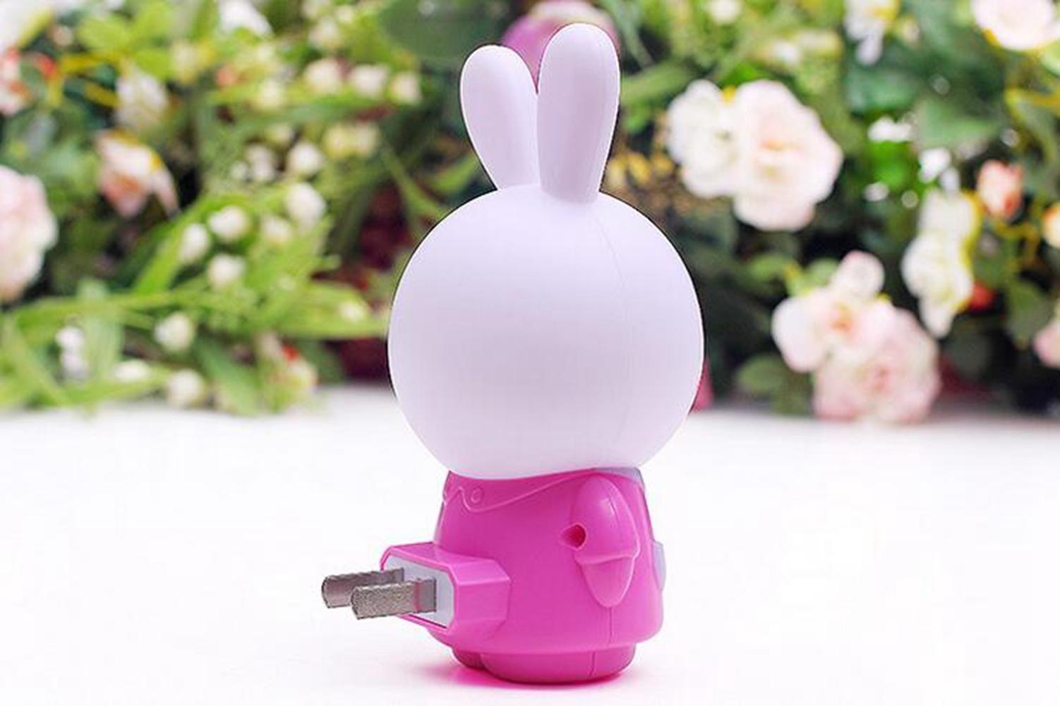 LumiParty Lovely Little Rabbit-shaped Night Lanp LED Night Light for children bedroom jk30