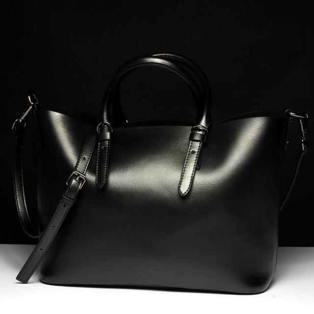 Luxury Genuine Leather Women's Shoulder Bag