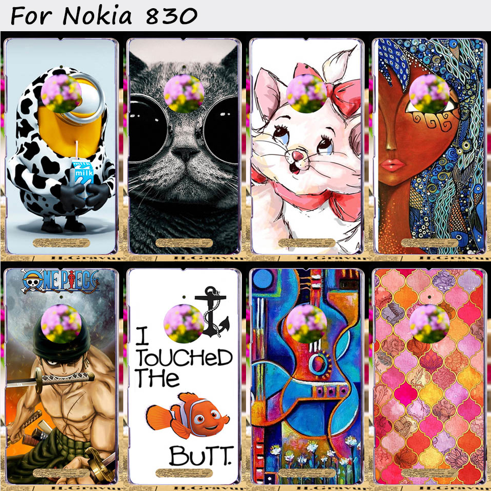 Hard Plastic and Soft TPU Mobile Phone Cover For NOKIA Lumia 830 N830 Cases Top Rated Fashion Luxury Cell Phone Bags Housings