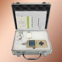 Portable CO2 Gas Detector Air Tester Pump Suction CO2 Monitor Metal Shell Gas Air Detector Low Power Gas Analyzer Sensor