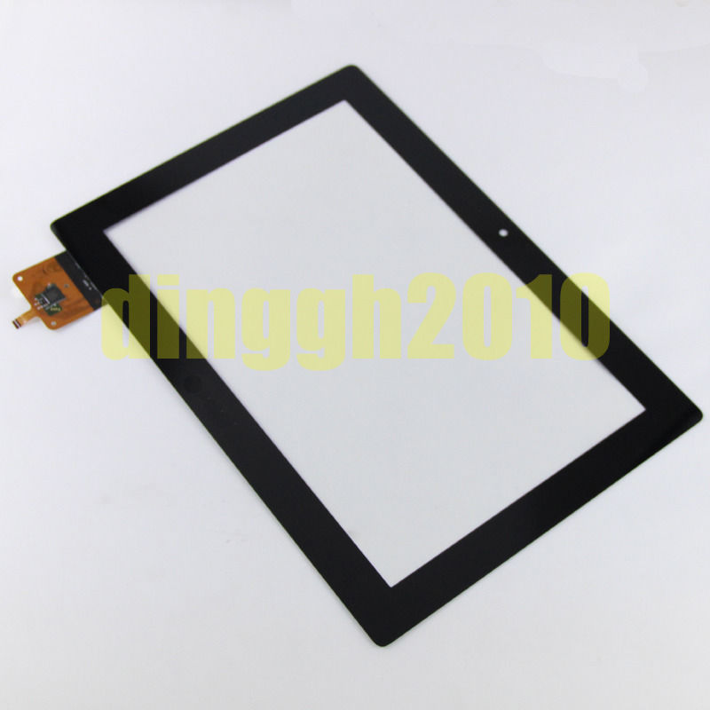 "For Lenovo IdeaTab S6000 10.1"" Black digitizer touch screen Glass  Free shipping