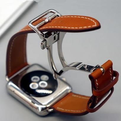 Watch Bracelet For Apple Watch Seires 4 Genuine Leather Strap For herm Apple Watch Band Series