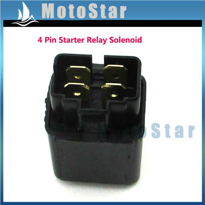 Starter Relay Solenoid For Eton Beamer II Beamer III Matrix 50 50cc 2 Stroke Scooter Moped