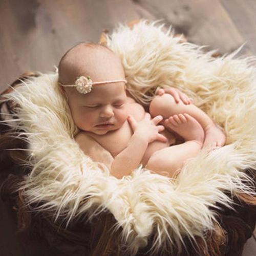 Faux Fur Photography Photo Prop Baby Newborn Blanket Background Backdrop Rug Faux Fur Photography Photo Prop Baby Newborn Blanket Background Backdrop Rug