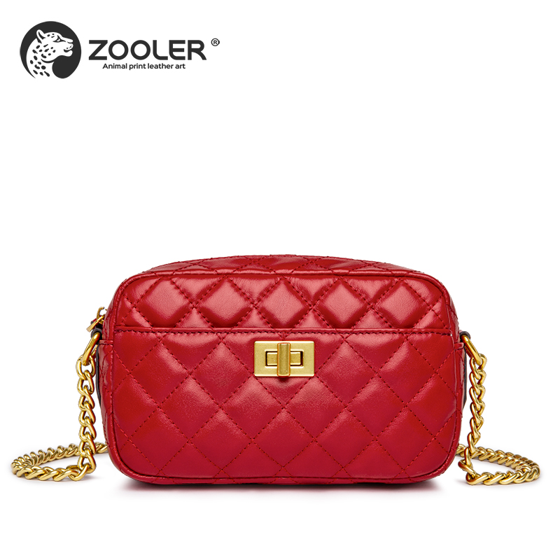 New!genuine leather woman bag ZOOLER 2018 shoulder bag cross body luxury handbags women bags designer bolsa feminina#S135 zooler 2018 luxury genuine leather bag for woman chain shoulder bag designer woman fashion cross body bags bolsa feminina bc100