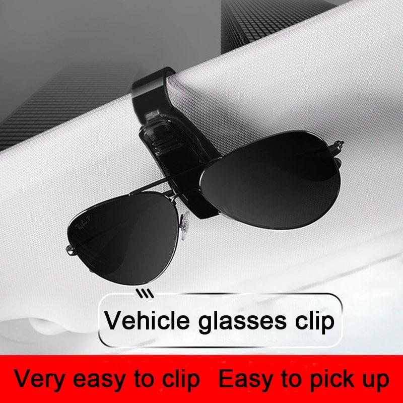 Image 3 - Car Glasses Frame Glasses Holder Car Glasses Case Sunglass Holder For Car For Ford Focus For Kia Forte Glasses For Sight-in Glasses Case from Automobiles & Motorcycles