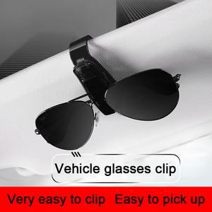 Image 3 - Car Glasses Frame Glasses Holder Car Glasses Case Sunglass Holder For Car For Ford Focus For Kia Forte Glasses For Sight