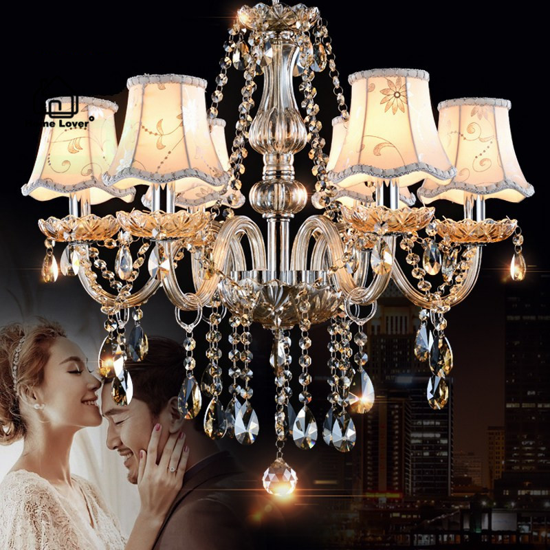 Chandeliers Lighting for home lighting Bedroom Kitchen Fixtures Cognac Color lustres para sala de jantar modern led chandelier led chandeliers for dining room bedroom kitchen white color k9 crystal chandelier light for home decoration lustres para quarto